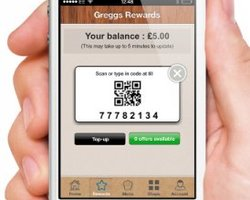 Greggs Mobile Payment App