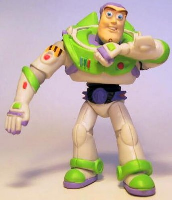 Buzz lightyear wearable touchscreen