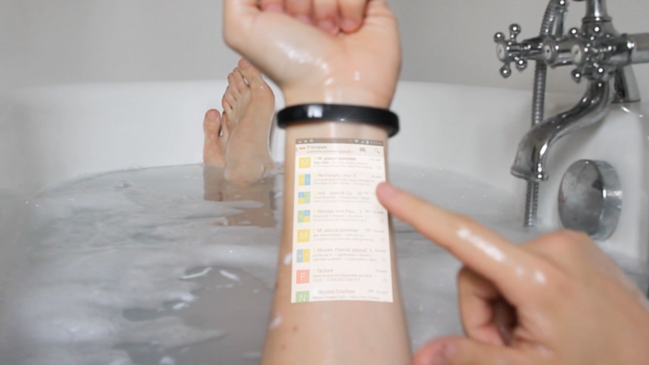 Wrist is your new touchscreen