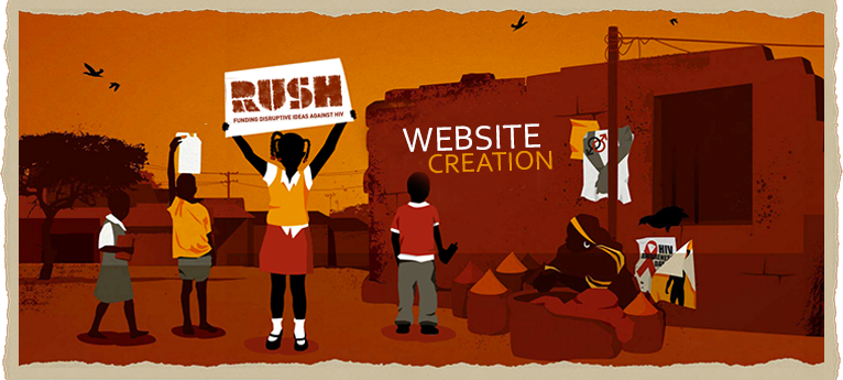 Rush charity website